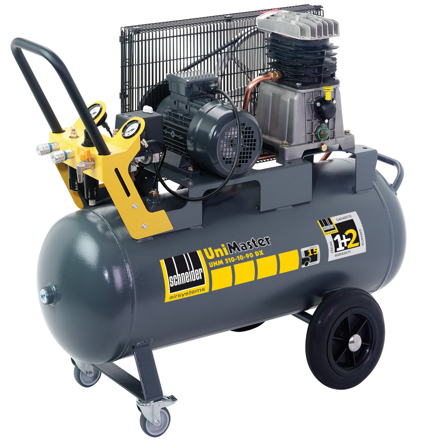 schneider kompressor unm 510 10 90 dx 1121490142 mobile unimaster kompressoren mobile. Black Bedroom Furniture Sets. Home Design Ideas